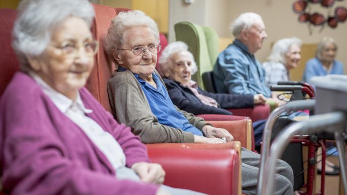 خانه سالمندان در پاسداران
