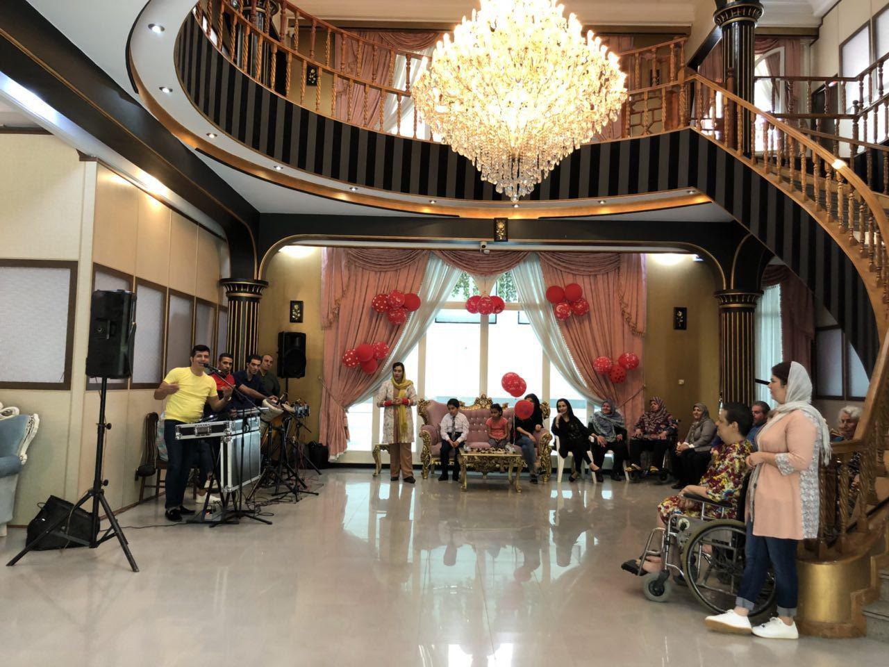 خانه سالمندان در پاسداران تهران