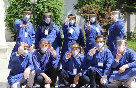 مقابله ویروس کرونا در مرکز نگهداری از سالمندان